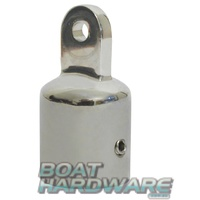 Bimini Tube End Cap 25mm Stainless Steel
