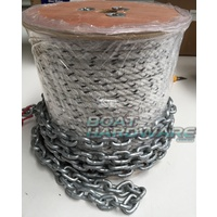 Rope & Chain Kit 75mtres of 8mm Triple Strand + 8 mtr 6mm Short link Chain