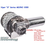 "Viper ""Micro"" 1000 Anchor Winch Bundle 30038-4mm100m"