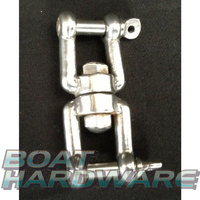 Swivel Jaw/Jaw 6mm - Stainless Steel