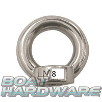 Eye Nut 8mm Stainless Steel