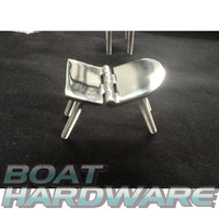 Flush Door Hinge with four threads 316 SS 70*40