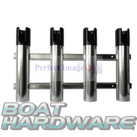 Rod Holder Aluminium (Chrome)