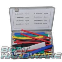 50pc Heatshrink Tubing assortment Kit