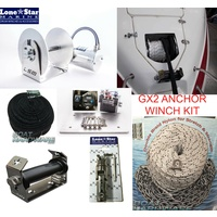 GX2 1000W Anchor Winch Combo 150m x 6mm Kit