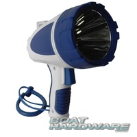 RECHARGABLE MARINE LED WATERPROOF 550 LUMENS SPOTLIGHT TORCH