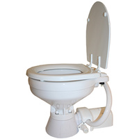 12V Standard Compact Bowl Electric Toilet - Jabsco