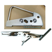 Aluminium Boat Latch - Standard (up to 6.5m Boat)