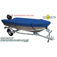 Open Boat Cover MA202-11BLUE (5.3-5.6m)