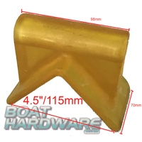 "4.5 ""  V Block for Boat Trailer (YELLOW)"