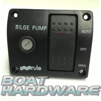Rule 3 Way Lighted Switch for Bilge Pump - 12 VOLT