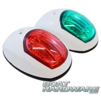 LED Navigation Lights - Side Mount WHITE RWB1081