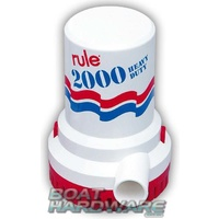 Rule Electric 12v Bilge Pump 2000GPM
