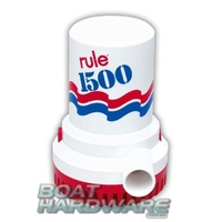 Rule Electric 12v Bilge Pump 1500GPM