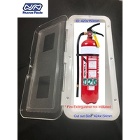 2kg Fire Extinguisher Box - Deluxe Model