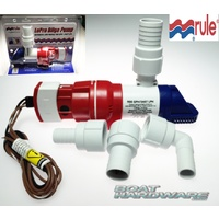 LoPro Bilge Pump Auto low profile 3407LPH