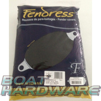 Fendress Fender Covers PAIR (BLACK) 600x180mm