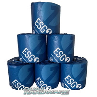 6 x EcoSoft™ Toilet Tissue Paper 2ply (100% Recycled)