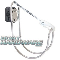 Small Lifebuoy Holder (Stainless Steel)