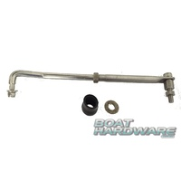 Tiller Steering Link Arm Kit (Stainless Steel)