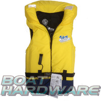 Adult SMALL/MEDIUM Blue Water Life Jacket with Whistle