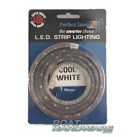 COOL WHITE LED Striplight 1 metre (300 Lumens)