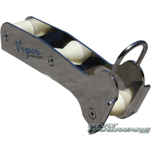 Bow Roller - Deluxe Stainless Steel (Small)
