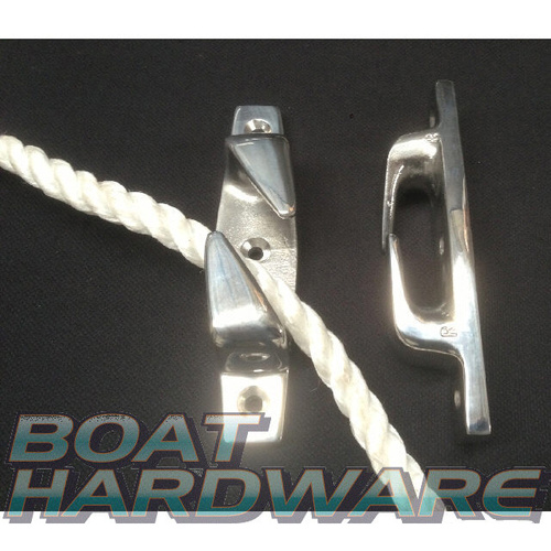 Boat Chocks/ Fairleads 115mm Stainless Steel (31014A + 31014B)