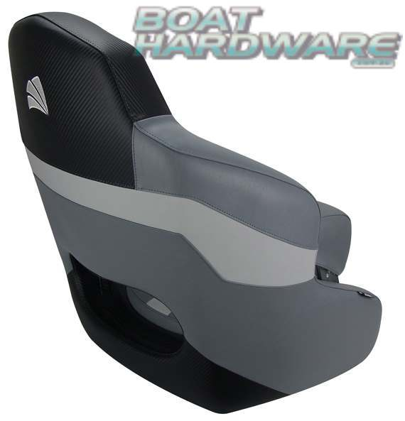 Relaxn Sports Bucket Boat Seat & Air Ride Pedestal Package