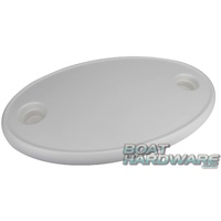 White OVAL Table Top