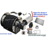 8mm 100m Rope Kit -1500 Electric Anchor Winch Bundle Viper Pro Series II