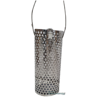 Large Berley Cage with Latched Lid & Pellet Filter - Stainless Steel