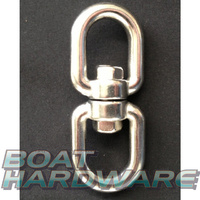 Chain Eye/Eye Swivel 10mm - Stainless Steel