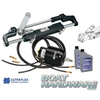 Hydraulic Steering Kit (up to 300HP) with 9mtr Nautech 1 Quick Fit Hose Kit