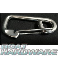 Spring Hook 80mm Stainless Steel