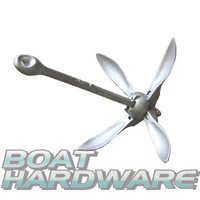 Fold Grapnel Anchor Draggen - Galvanised 1.5kg