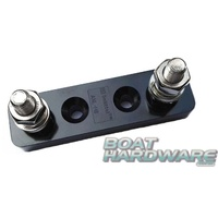 Heavy Duty Dual Terminal Power Stud Busbar Stainless Steel