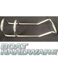 Rod Holder Double Wire Stainless Steel 6mm