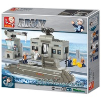 Army Navy Submarine Sluban Blocks Set 381pcs Model B0123