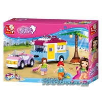 Girls Dream Caravan Sluban Blocks Set 272pcs Model B0606