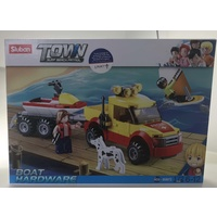 Buggy & Jet Ski Surf Beach Patrol Sluban Building Block Set 172pcs Model B0672