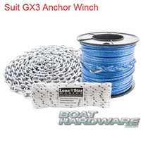 Lone Star Hi Spec Rope & Chain Kit HSC5x300GX3