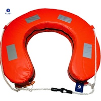 Burke Horseshoe LifeBuoy - Orange (AYF Compliant YA Approved)