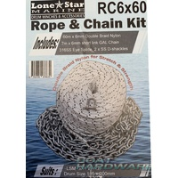 GX1 Lone Star Rope & Chain Kit RC6x60
