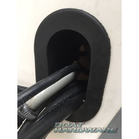 Outboard Rubber Slop Stopper (Oval)