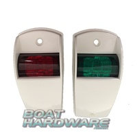 Navigation Lights - Side Mount WHITE (RWB1664)