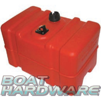 Scepter Fuel Tank Plastic with Gauge - Tall Profile 45 Litre