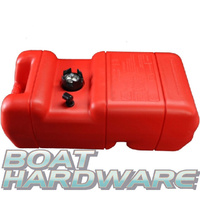Fuel Tank Plastic (RED) 22.7 Litre