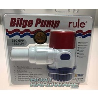 NEW MODEL Rule Electric Bilge Pump 360 GPM