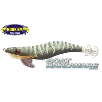 Squid Jig Hosaku 3 grams Black Stripe (UV Reactive)